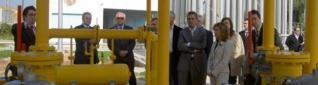 La planta de gas de Endesa en La Xara, en su inauguración en 2006.